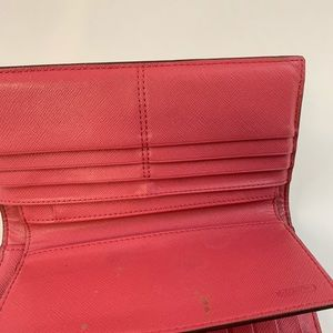 Coach Bags - Coach Womens Wallet Trifold With Checkbook Button